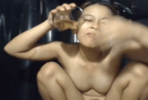 Pissen und kacken vor der Webcam