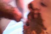 Schwanz lutschen mit Kacke im Maul