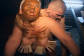 Blondine ist Toilettensklavin