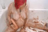 Schwangere Messy Schlampe