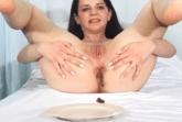 Scheisse auf dem Teller serviert