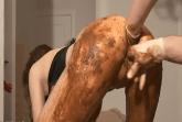 Kaviar Fisting mit Messy Schlampe