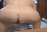 Oma beim scheißen gefilmt
