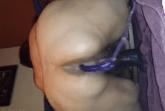Haarige Scat Schlampe kackt