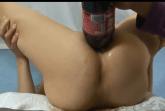 Anal Einlauf mit Coca Cola